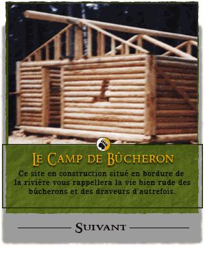 Informations petinantes propos de notre entreprise for Camp en bois rond